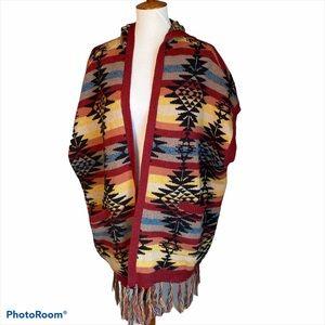 American Eagle Womens Cardigan Aztec Hoodie